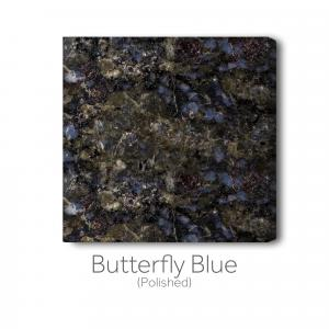 Butterfly Blue - Polished
