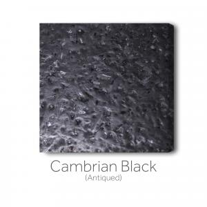 Cambrian Black - Antiqued