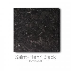 Saint-Henri Black - Antiqued