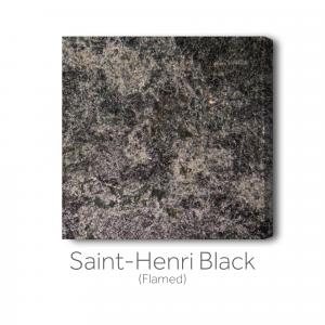 Saint-Henri Black - Flamed