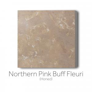 Northern Pink Buff Fleuri Honed