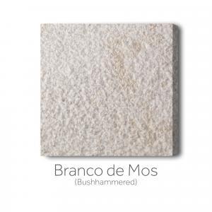 Branco de Mos  - Bushhammered
