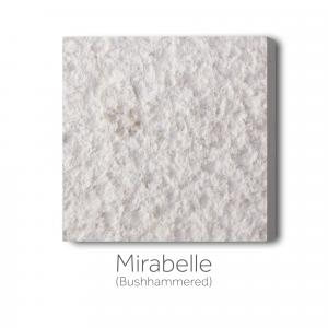 Mirabelle Bushhammered