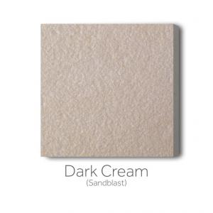 Dark Cream Sandblast