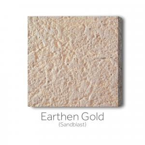Earthen Gold Sandblast