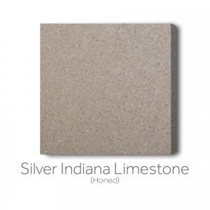 Silver Indiana Limestone Honed