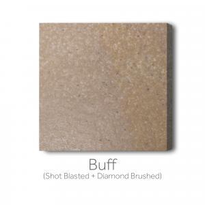 Buff  - Shot Blast and Diamond Brushed