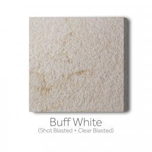 Buff - White Shot Blast and Clear Blast