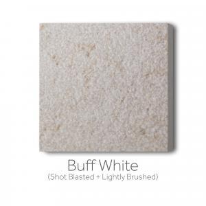 Buff - White Shot Blast and Lightly Brushed