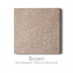 Brown - Shot Blast and Diamond Brushed