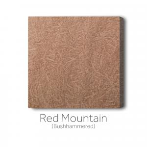 Red Mountain Bushhammered