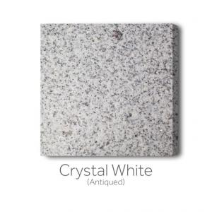 Crystal White - Antiqued
