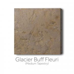 Glacier Buff Fleuri Medium Tapestry