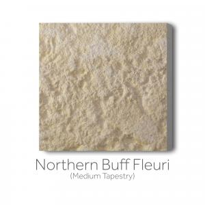 Northern Buff Fleuri Medium Tapestry