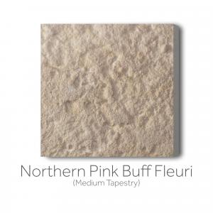 Northern Pink Buff Fleuri Medium Tapestry