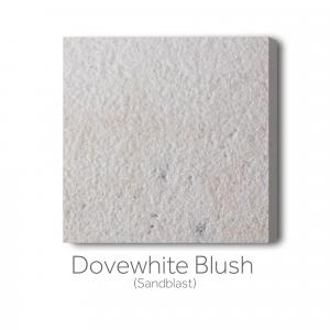 Dovewhite Blush Sandblast