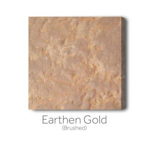Earthen Gold Brushed