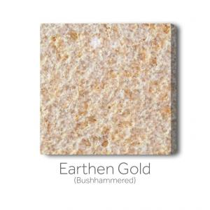 Earthen Gold Bushhammered