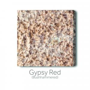 Gypsy Red Bush Hammered