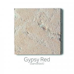Gypsy Red Sandblast