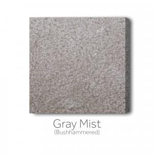 Gray Mist Bushhammered