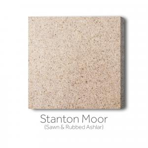 Stanton Moor Sawn and Rubbed Ashlar