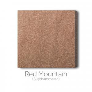 Red Mountain Bushhammered